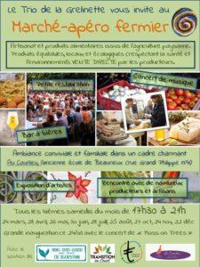 Apéro marché fermier bio entre Mont Saint Guibert et Court-Saint-Etienne @ Courlieu | Court-St.-Étienne | Wallonie | Belgique