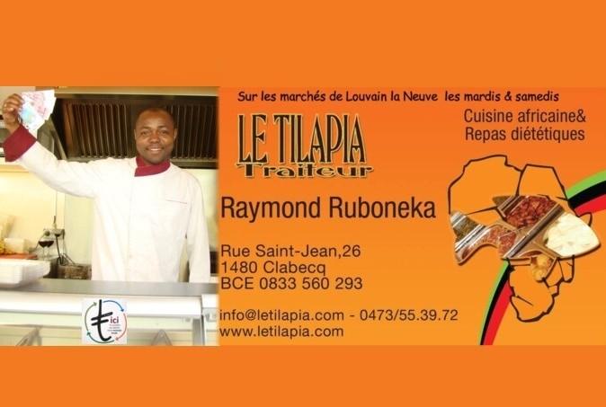 41 Tilapia (Le)  Cuisine africaine Marchés LLN