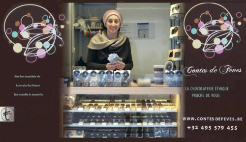 13 Contes de fèves Chocolaterie artisanale Marché LLN