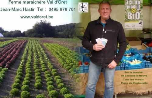 23 Jean Marc Hastir ferme Valdoret  Marché LLN