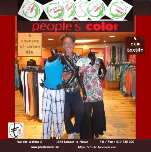 33 People's Color éco textile LLN