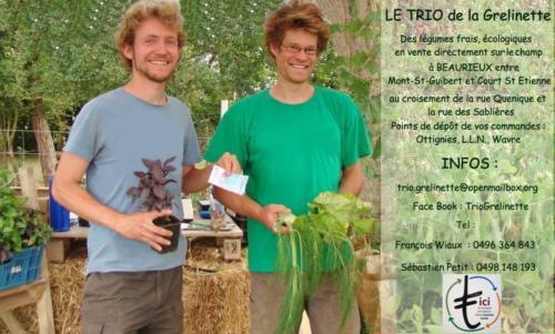 42 Trio de la Grelinette Légumes bio  OLLN