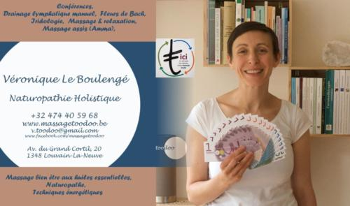 44 Veronique Le boulengé Naturopathie  Holistique massage LLN