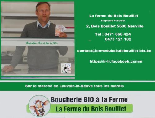 7 Boucher Marché LLN Bois Bouillet