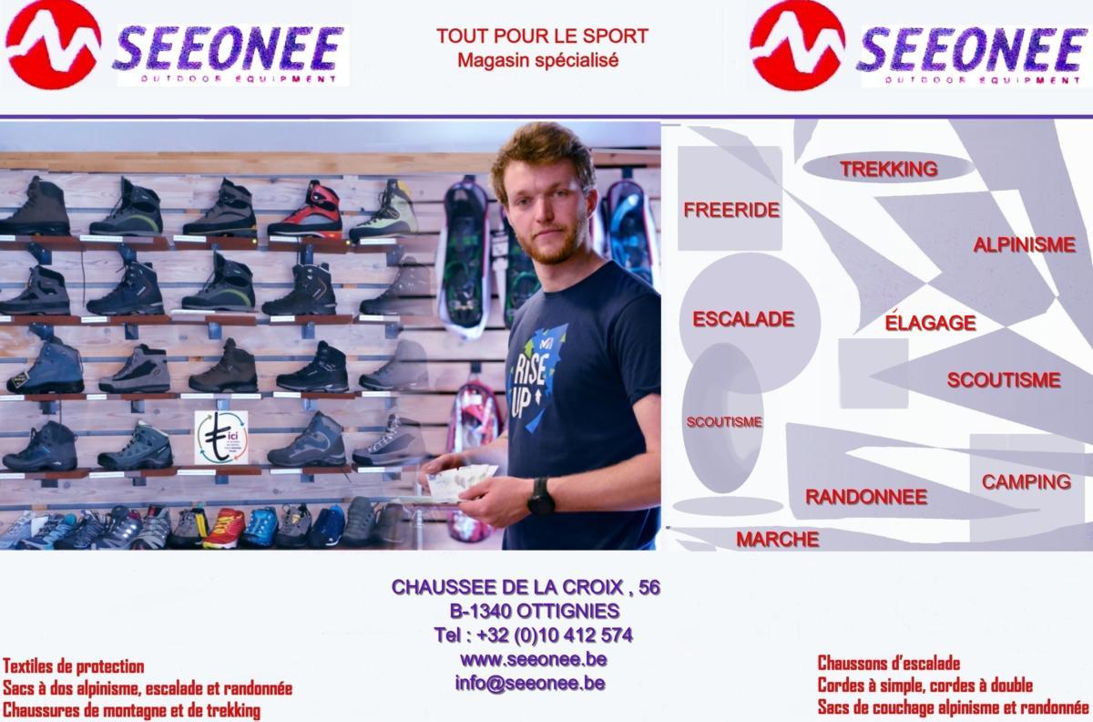 40 Seeonee magasin tout pour le sport Ottignies
