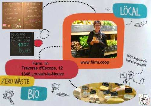 19 Farm magasin Bio LLN
