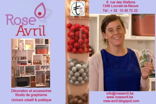 38 Rose avril Magasin déco & accessoires LLN