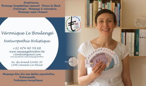 44 Veronique Le boulengé Naturopathie  Holistique massage LLN
